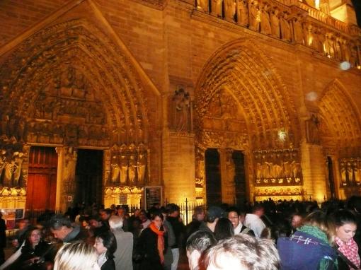 Notre Dame de Paris - photo by Mamcasz