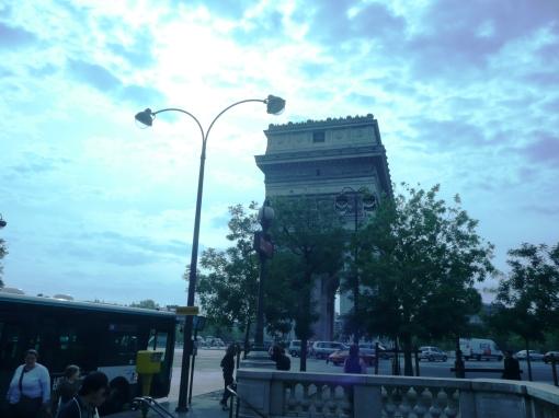 Arco do Triunfo em Paris 1 - photo by Mamcasz