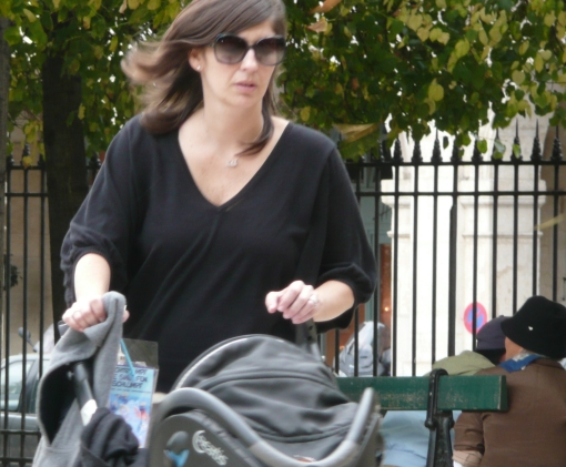 Mulher em Paris 3 - photo by Mamcasz