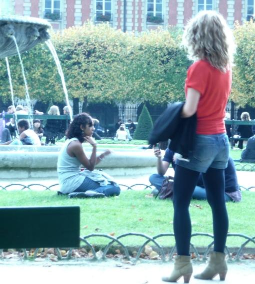 Mulher em Paris 4 - photo by Mamcasz